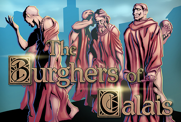 Burghers of Calais – Augmented Reality Comic (McNay Museum of Art)