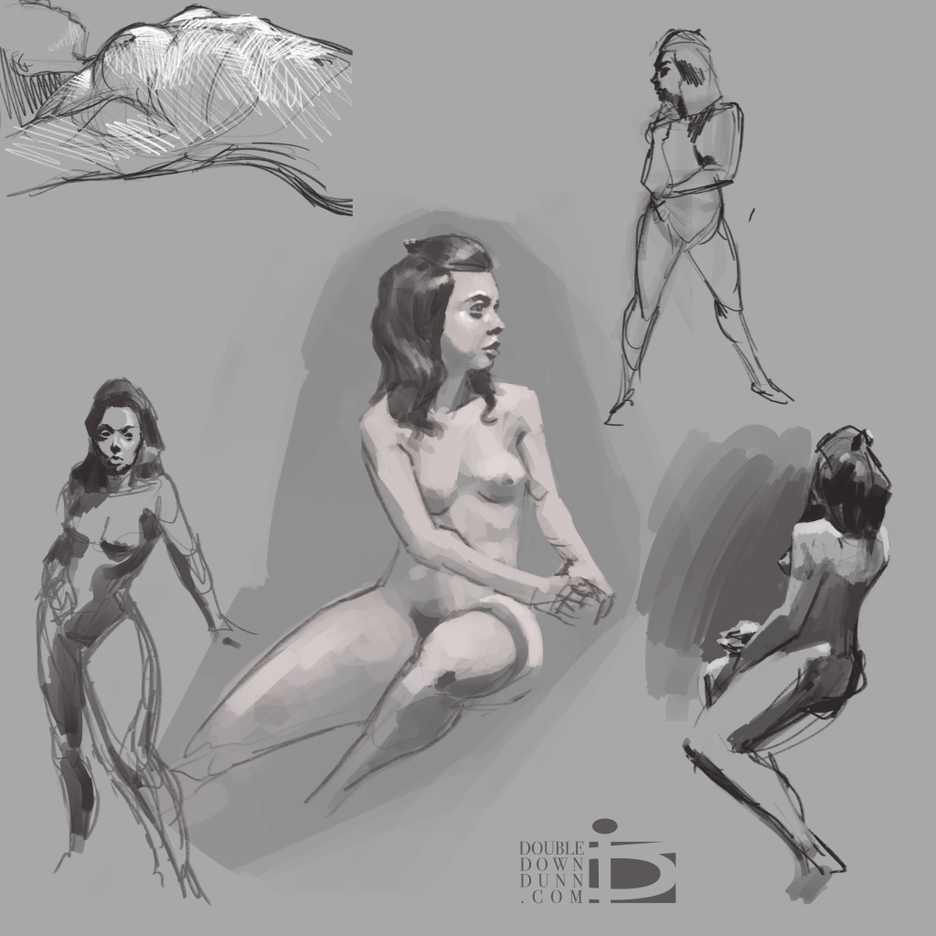 Life Drawing Female