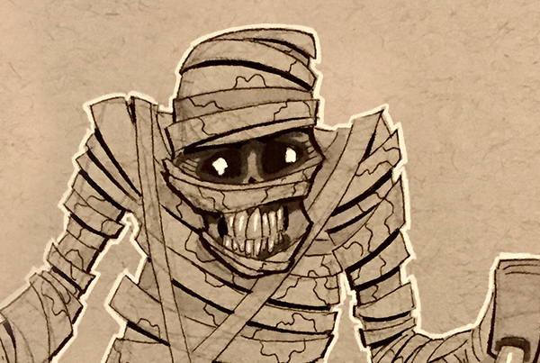 Rough Mummy